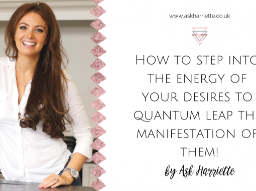 How To Step Into The Energy of Desire TO Quantum Leap Your Money & Manifesting Goals
