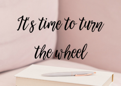 It's time to turn the wheel (here's what you need)