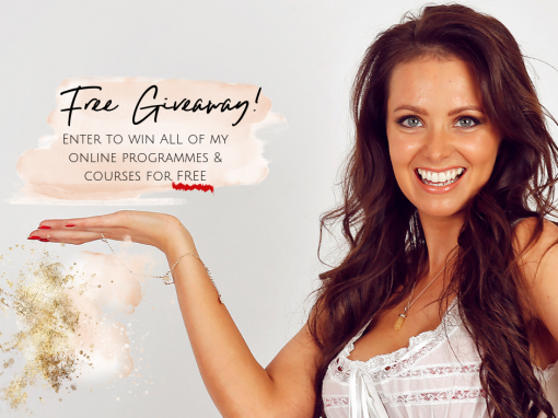 FREE Giveaway! Win ALL of my courses & programmes?