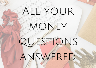 All your money questions answered