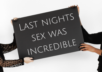 Last night's sex was incredible