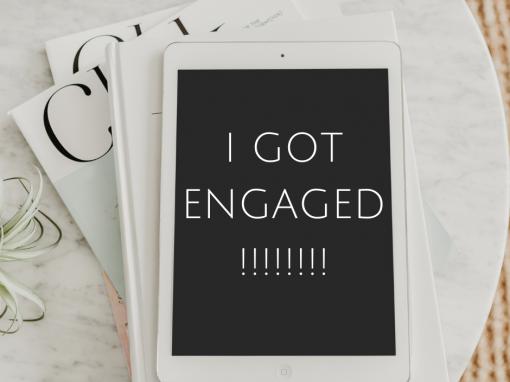 I GOT ENGAGED 💍💍💍