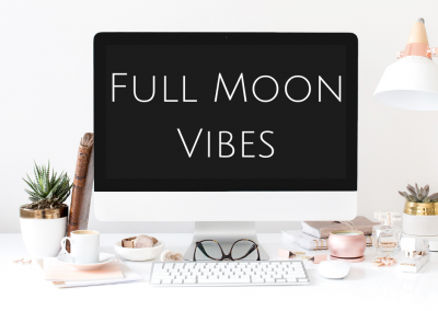 Full Moon Vibes – A lesson in inward & outward projection