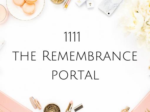 1111 the Remembrance Portal