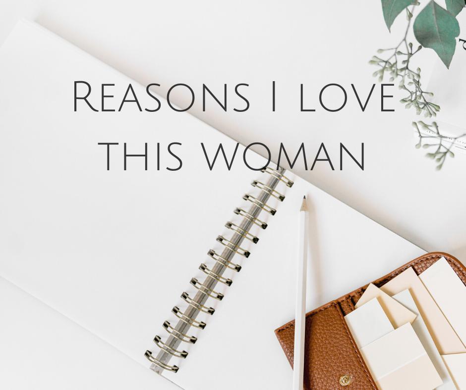 Reasons I love this woman 😍