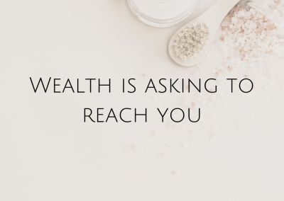 Wealth is asking to reach you