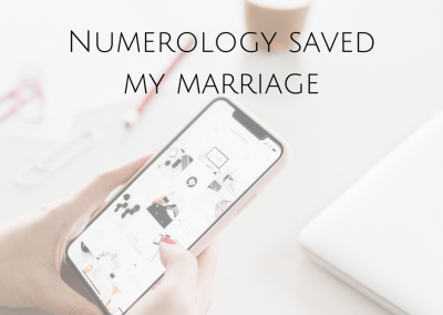 Numerology… saved my marriage