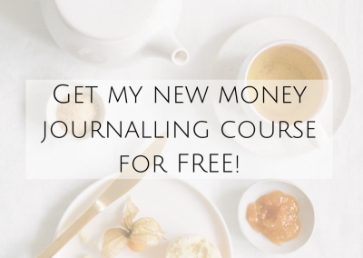 Get my new money journalling course for FREE!