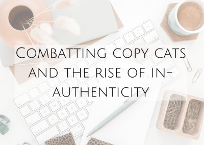 Combatting copycats and the rise of in-authenticity