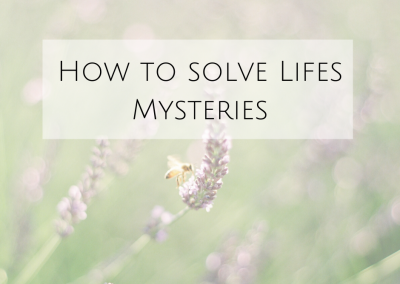 How To Solve Life's Biggest Mysteries