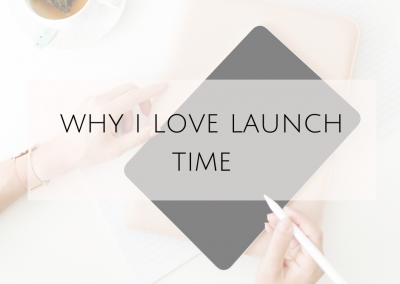 Why I love launch time!
