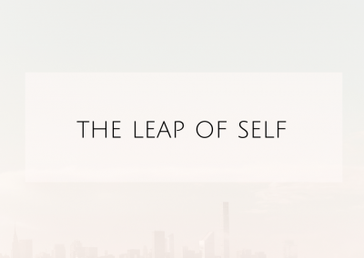 The leap of Self