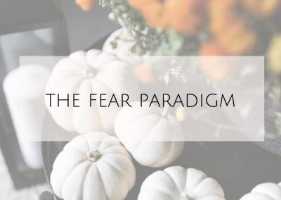 The Fear Paradigm