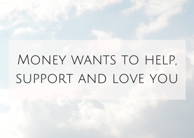 Money Wants to Help, Support and Love You