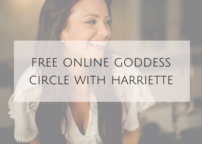 Free Online Goddess Circle with Harriette