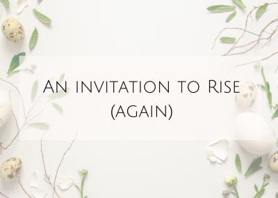An invitation to Rise [again]