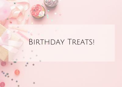 Birthday Treats!