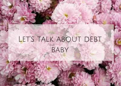 Let's talk about debt bab