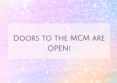 Doors to the MCM are OPEN!