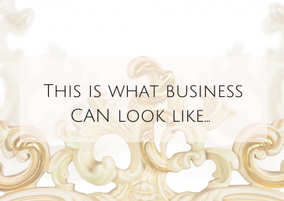 This is what business CAN look like…
