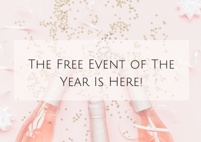 The Free Event of The Year Is Here!