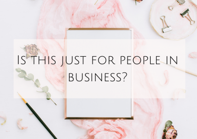 Is this just for people in business?