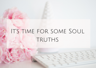 It's time for some Soul truths