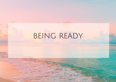 Being Ready